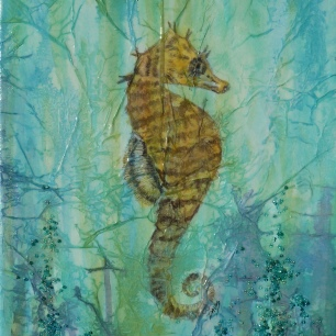 Textured Seahorse
